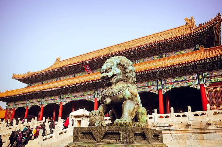 Peking, zabronione, Turystyka, Chiny, Azja, Architektura, Świątynia - budynek