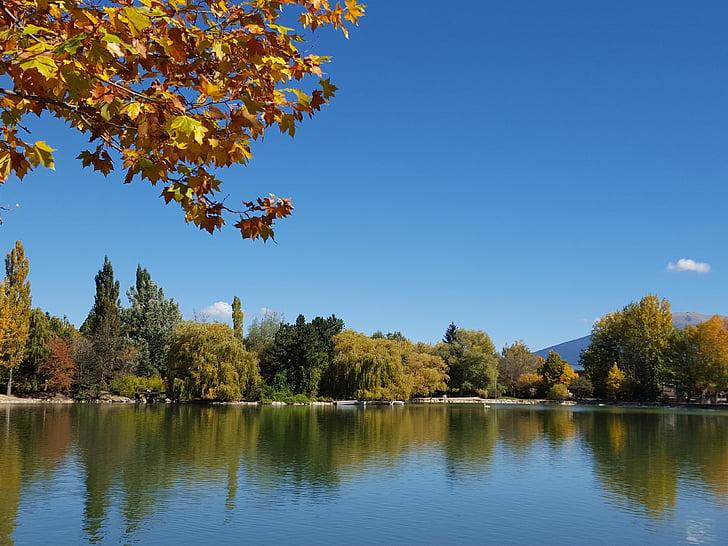 sjöar, landskap, naturen, sjöarna, Sky, vatten