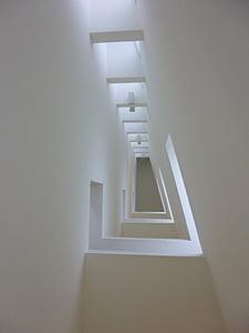 Architektura, budovy, moderní, světlo, Perspektiva, moderní budova, moderní architektura