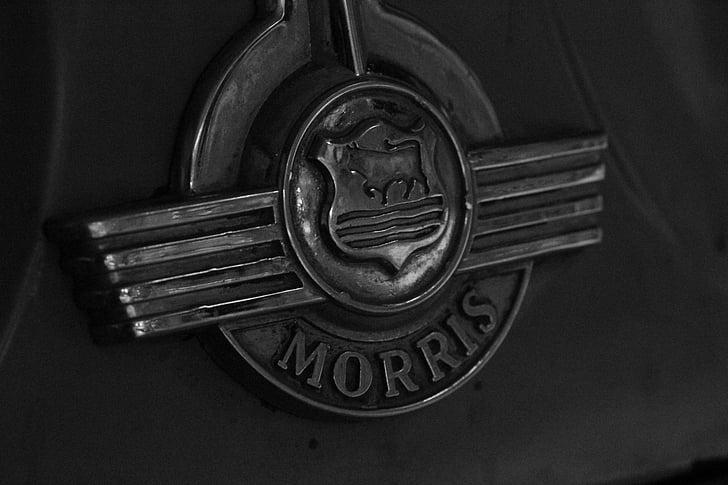logotip, marca, Morris minor, cotxe, insígnia, símbol, identitat
