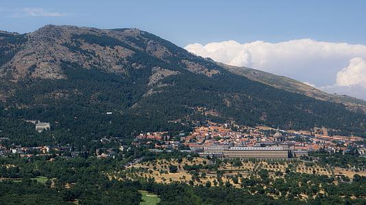 montanha, pessoas, modo de exibição, paisagem, montanhas, natureza, campo