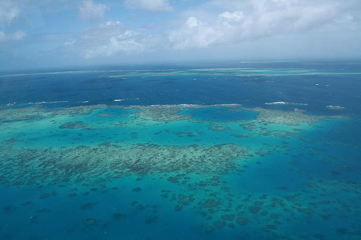 Кернс, Визначні пам'ятки, рифи, море, Природа, горизонт