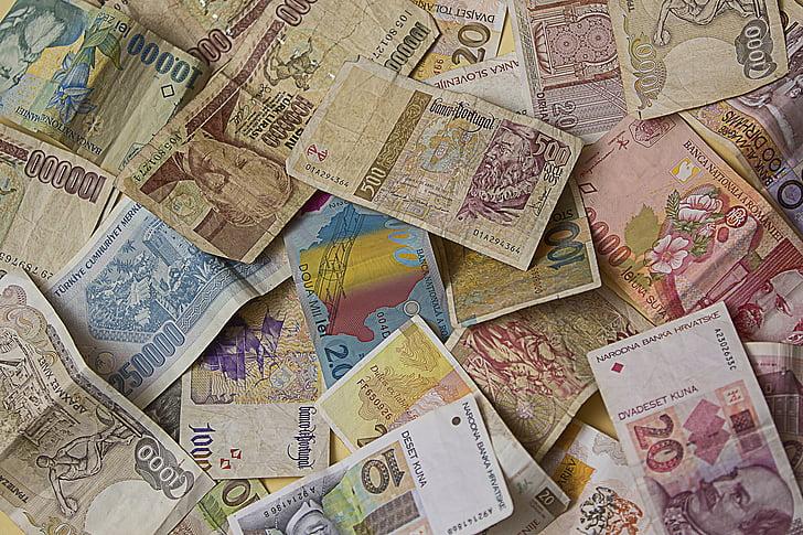 пари, доларовата банкнота, валута, плащам, пари и парични еквиваленти, сметки, империя