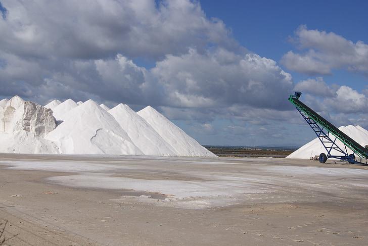 zeezout, zout, Salzberg, zoutindustrie, Mallorca