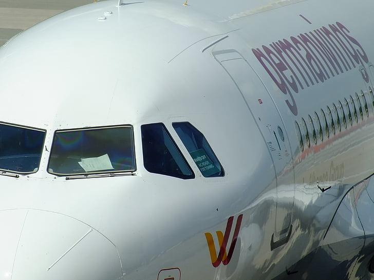 ilma-aluksen, lentokone, Boing, Saksan wings, lentokenttä, ilmailun