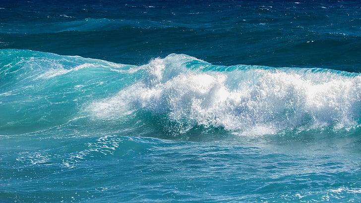 hullám, Lenyûgözõ, hab, spray, energia, víz, Splash