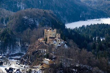 Németország, Bajorország, Castle, Nevezetességek, struktúrák, történelmileg, Schwangau