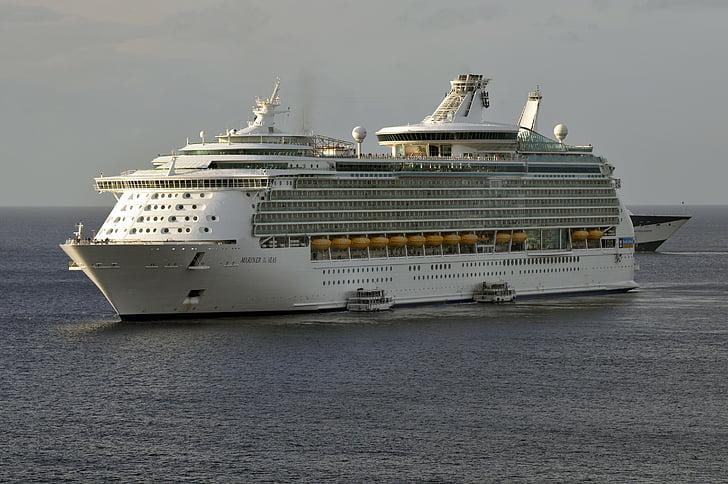 Mariner av haven, kryssning, fartyg, kryssningsfartyget, till sjöss, Medelhavet, Holiday