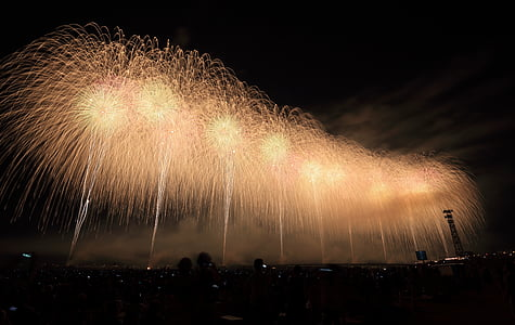 2016, celebrate, celebration, fireworks, lights, new year's eve, night