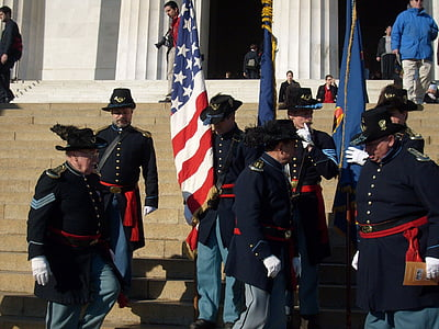 soldiers, flags, civil, war, uniforms, usa, american