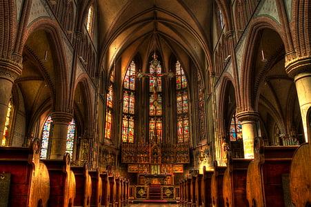 kerk, altaar, massa, religie, christelijke, Heilige, Katholieke