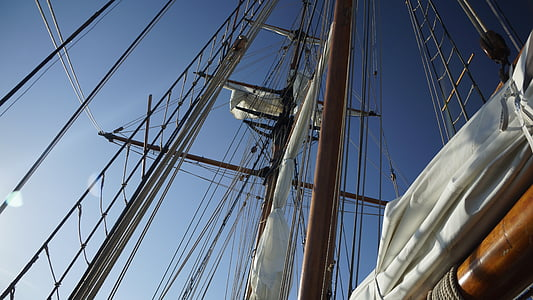 rigging, sailing, boat, sailboat, nautical, rope, sail