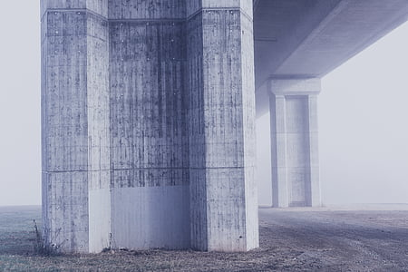 arquitectura, Art, asfalt, Pont, brillant, edifici, negoci