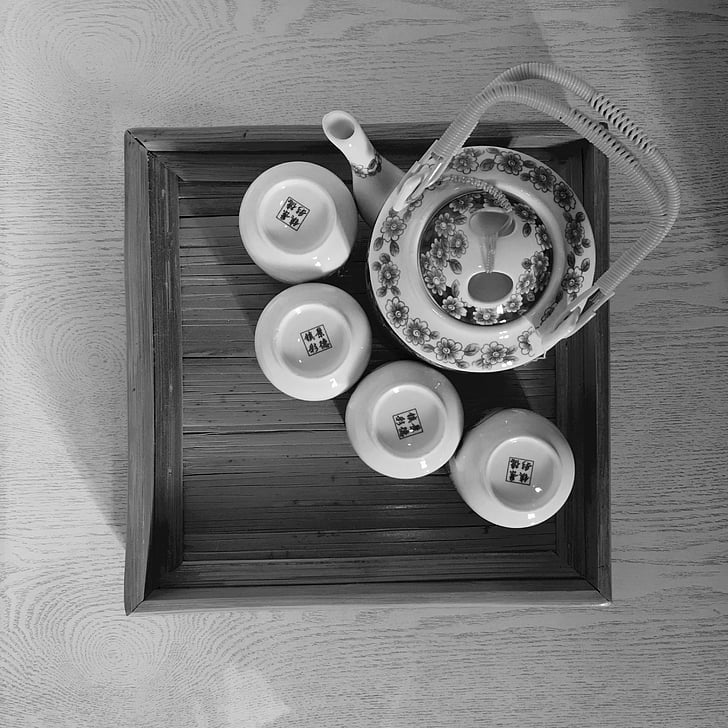 tea, peace, heat up, simple, life, directly above, table