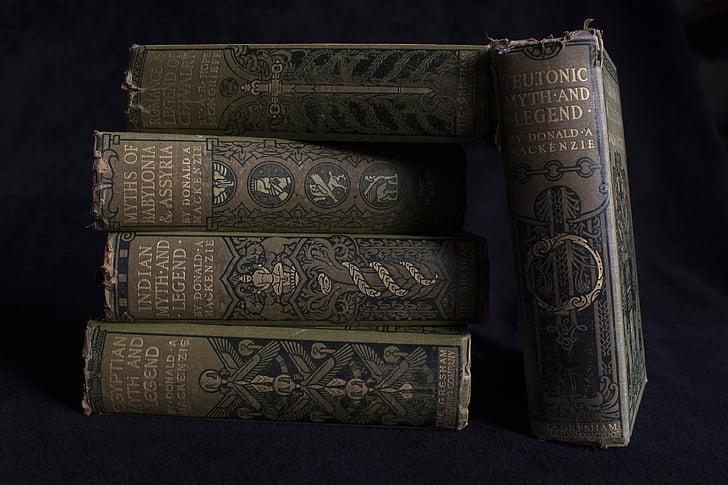 old books, antique, antique books, book, vintage, literature, ancient