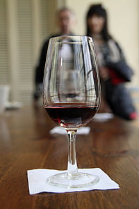 vi, degustació, vidre, vermell, Malbec, gust, beguda
