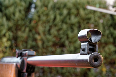 fegyver, puska, lő, célkitűzések, lövöldözés sport, nyomás légpuska, pisztoly