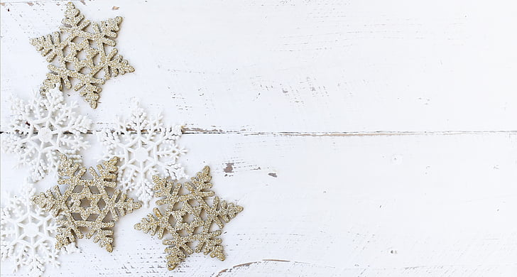 white wood, desk, winter, christmas, flatlay, rustic, holiday