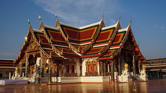 wat phra aquell company choeng, el temple, mesura, religió, temple de Tailàndia, Tailàndia, Art