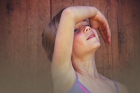 person, human, child, girl, dance, ballet, face