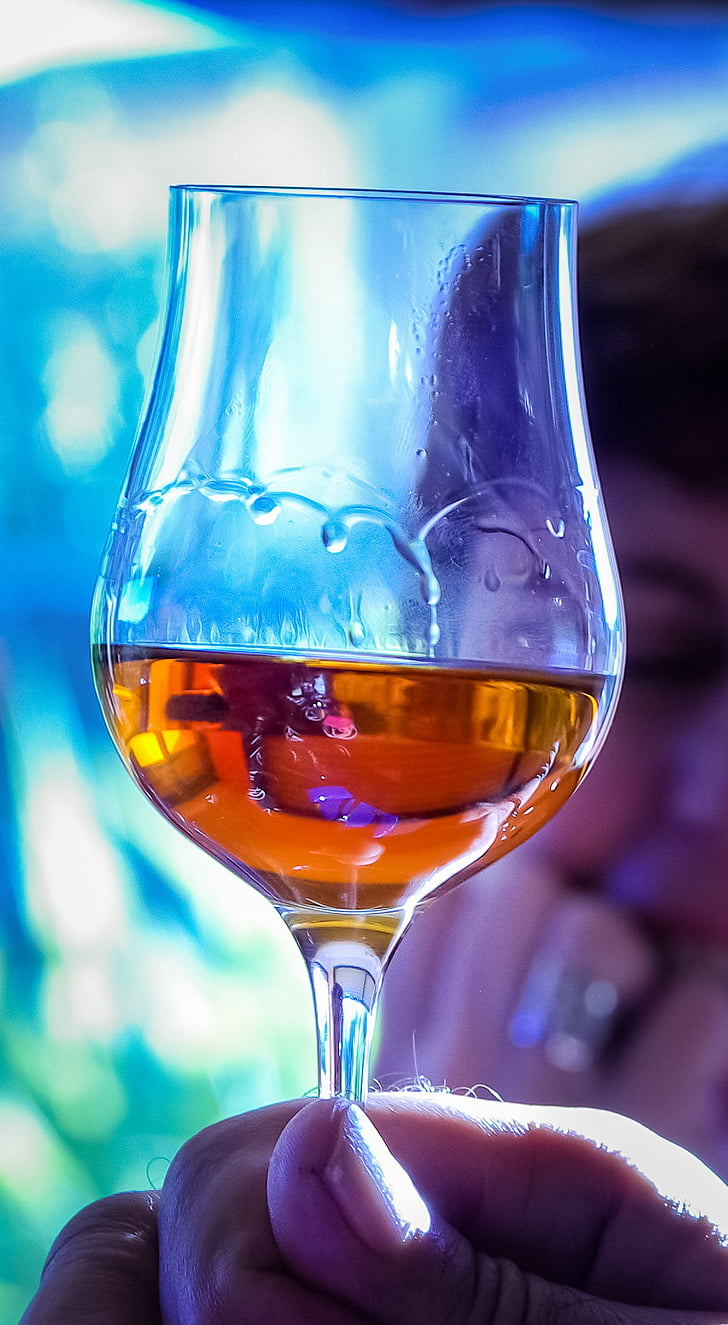 steklo, konjak, degustacija, vino, alkohol, pijača, Wineglass