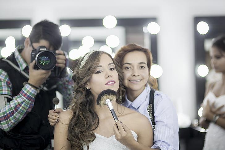 照片, 化妆, 摄影师