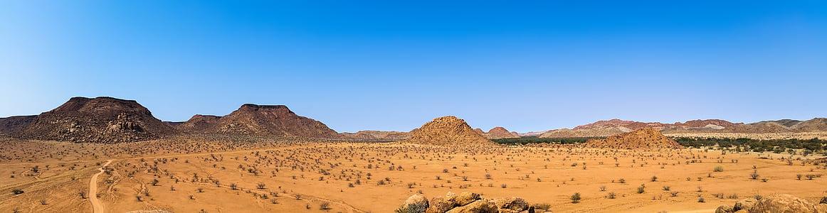 Châu Phi, Namibia, cảnh quan, khô, Heiss, Thiên nhiên, dãy núi