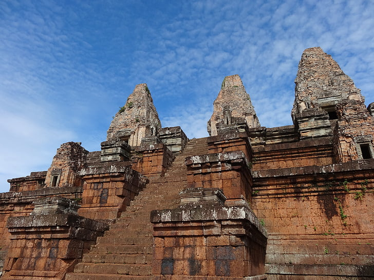 Камбоджа, Анкор, храма, Сием Реап, скулптура, червените, история