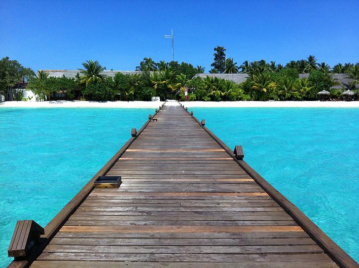 maldives, kuredu, beach, holiday, sea, blue, summer