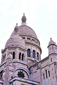 París, Catedral, Lourdes, l'església, França, arquitectura, cúpula