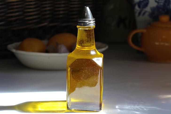 oli, oli d'oliva, cuina, Verge, Sa, aliments, or