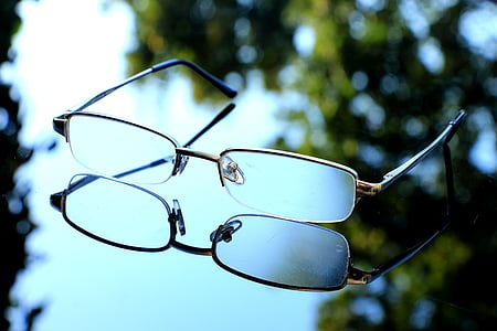 แว่นตา, ดู, ภาพรวม, ความคมชัด, เลนส์, ดูคมชัด, มุมมองที่ชัดเจน