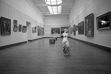 Art, näitus, muuseum, Statue, Louvre, Pariis