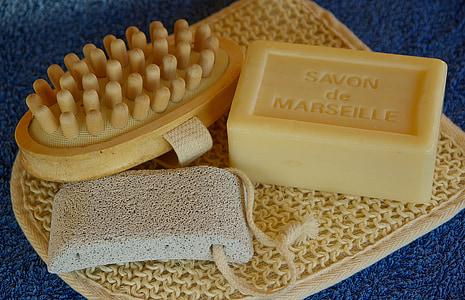 Lavabo, sabó de Marsella, neteja, Pedra Tosca, higiene, Pastilla de sabó, salut i medicina