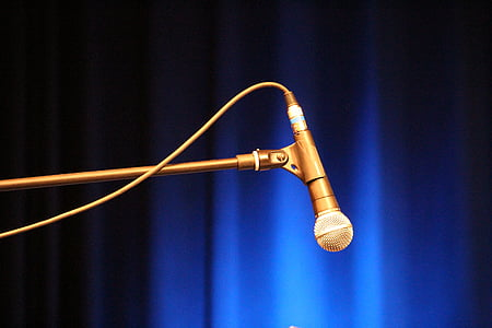 microphone, music, concert
