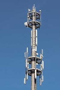원격 로그인 돛대, 라디오 돛대, 통신, 안테나, 리셉션, 뉴스, 스카이