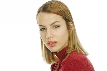 model, beautiful, portrait, face, fashion shoot, young model, women's