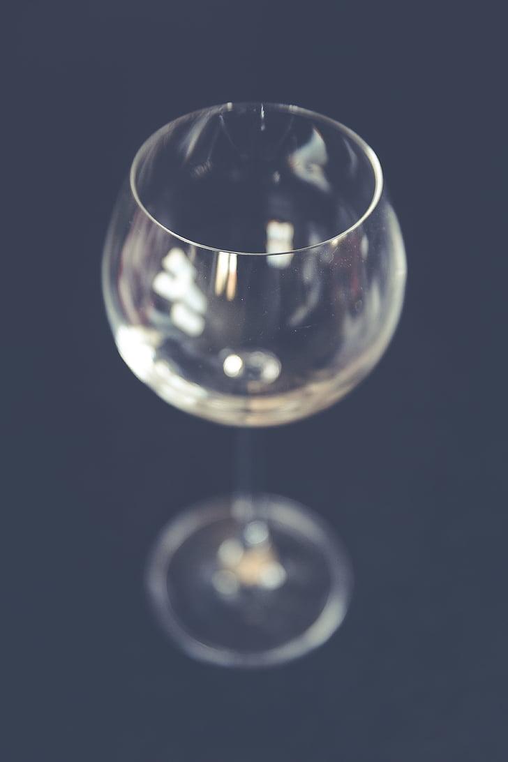 klaas, Bokeh, Tabel, Väljamõeldud, stiilne, veini, peegeldus