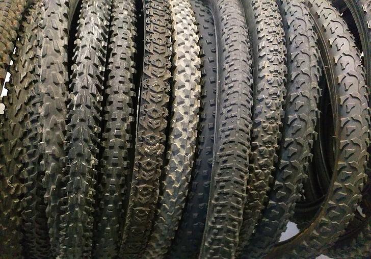 neumáticos, neumático, neumático, neumáticos, bicicleta, bicicleta, ciclismo