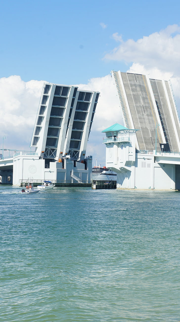 Miami beach, Verenigde Staten, brug