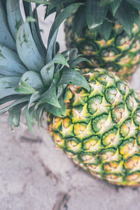菠萝, 水果, 热带, 食品, 健康, 新鲜, 甜