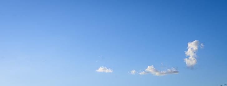 plavo nebo, oblak, dan, oblaci