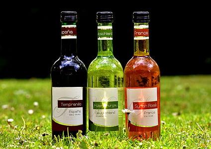 veini, jook, Restoran, Weinstube, alkoholi, pudelid, veinid