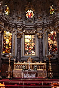 altar, architecture, art, cathedral, catholic, christianity, church