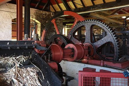 ingranaggi, industria, Rum, meccanica, macchina