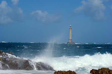 navegar per, Mar, ona, Roca, Costa, platja, àmplia
