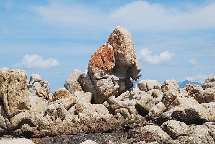 stenar, Rock, struktur, Korsika, Cliff, Rock - objekt, naturen