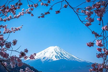 muntanya, Highland, blau, cel, Cimera, cresta, paisatge