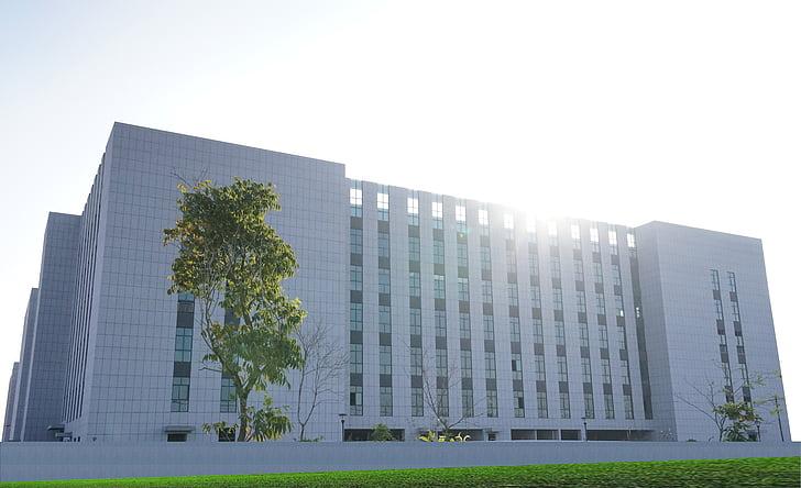 Chiết Giang, y học, Hoi-chang, chuẩn bị, chụp từ trên không, kiến trúc, ngoại thất xây dựng