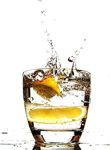 toidu, jook, jook, puu, mahla, pool, jää